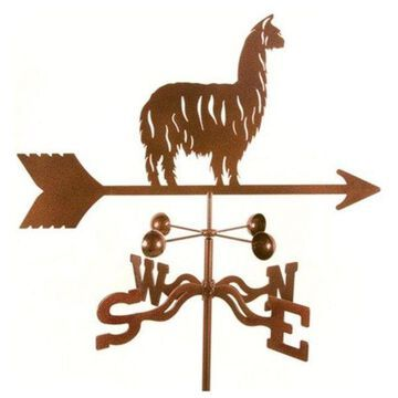 EZ Vane Alpaca and Llama Weathervane With Deck Mount