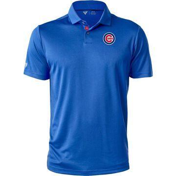 Levelwear Men's Chicago Cubs Blue Duval Polo