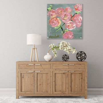 ArtWall Peonies Wood Pallet Art