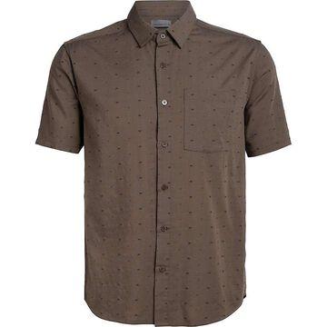 Icebreaker Men's Compass SS Shirt - Small - Driftwood