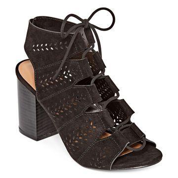 Bamboo Womens Taste 28 Heeled Sandals
