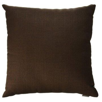 Howard Elliott Sterling Pillow, Chocolate, Down Insert