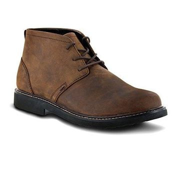 Apex Men's LT410M Chukka Boot Brown 7