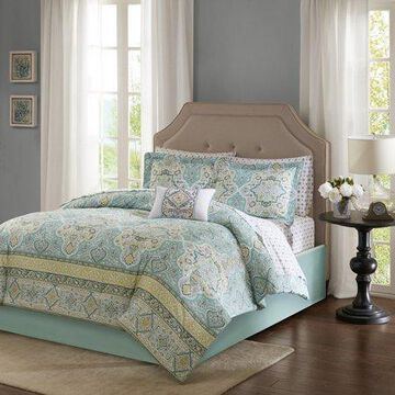 Home Essence Shannon Bed in a Bag Comforter Bedding Set