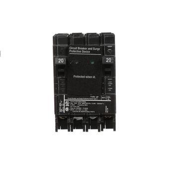 Siemens QP 20-amp 2-Pole Standard Trip Circuit Breaker   QSA2020SPDP