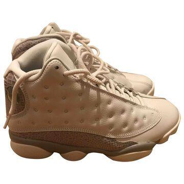 Jordan Air Jordan 13 White Leather Trainers