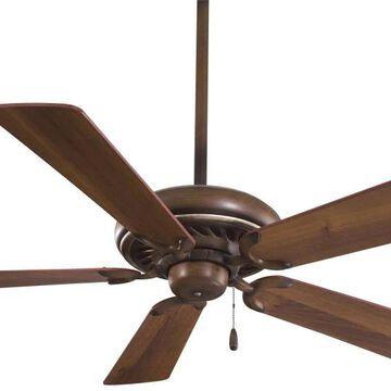 Minka Aire Supra 52-in Belcaro Walnut Indoor Ceiling Fan (5-Blade)   F568-BCW