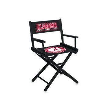 NCAA University of Alabama Table Height Director's Chair