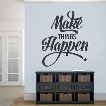 Make Things Happen' 40 x 48-inch Wall Decal