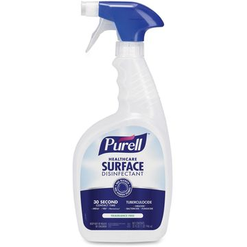 PURELL Healthcare Surface Disinfectant Fragrance Free 32 oz Spray Bottle 12