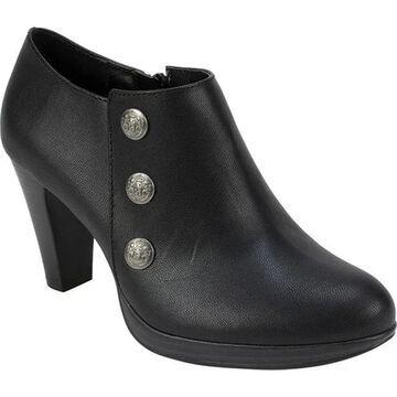 Rialto Women's Penston Ankle Bootie Black Smooth Polyurethane