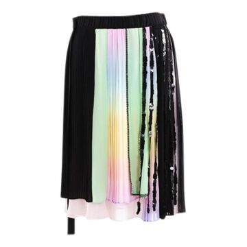 Marco De Vincenzo Pink Polyester Skirts