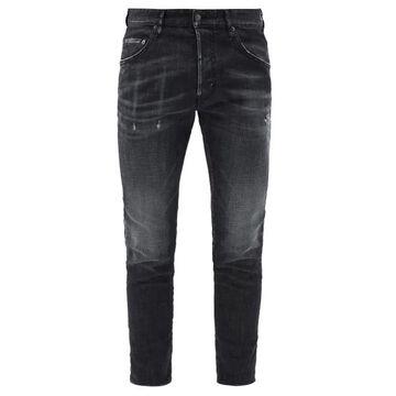 Dsquared2 - Skater Distressed Skinny-leg Jeans - Mens - Grey