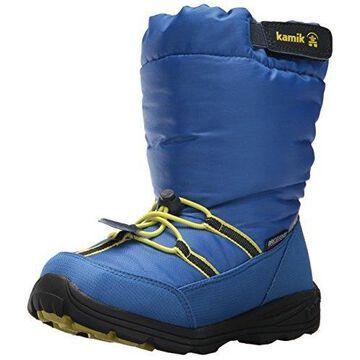 Kamik Boys' Arvid Snow Boot Strong Blue 7 Medium US Toddler