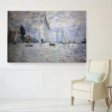 Wexford Home Monet 'Boats-Regatta' Canvas Wall Art