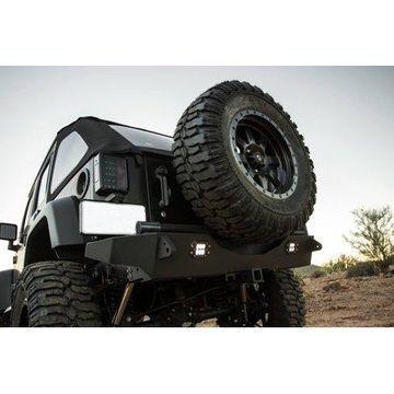 Addictive Desert Designs 07-18 Jeep Wrangler JK Stealth Fighter Rear Bumper w/ KC Logo