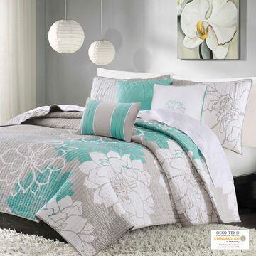 Home Essence Jane Cotton Sateen Comforter Printed Bedding Set