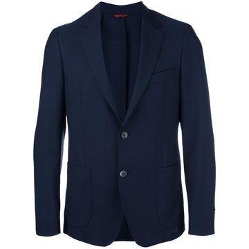 button up blazer
