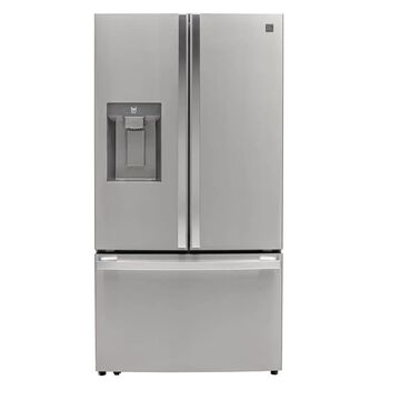 Kenmore Elite 30.6-cu ft French Door Refrigerator with Ice Maker (Finger Print Resistant Stainless Steel) ENERGY STAR | KLBH031ATE
