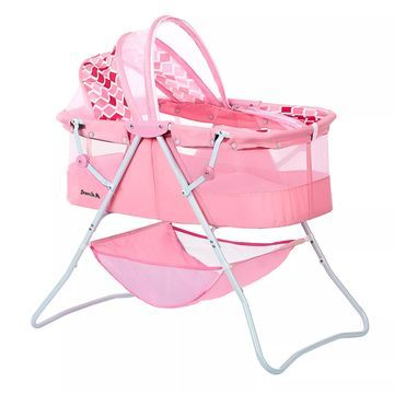 Dream on Me Karly Bassinet in Rose