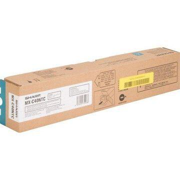 Sharp Cyan Toner Cartridge - Laser - 10000 Page - Cyan (mxc40ntc)