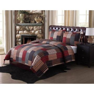 Remington Gunnison Rotary Bedding Quilt Set