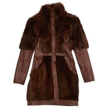 Temperley London \N Brown Leather Coats
