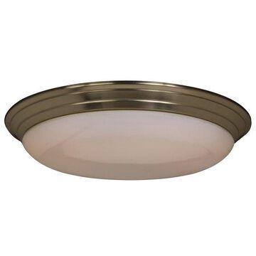 Maxim Lighting 87017SN Classic EE 2-Light Flush Mount