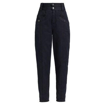 Derek Lam 10 Crosby Alexa High-Rise Denim Pants