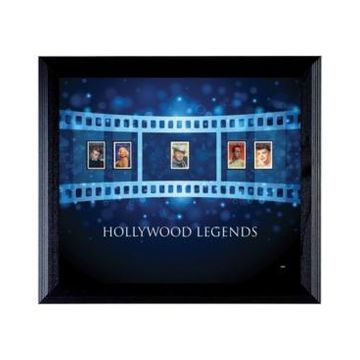 American Coin Treasures Hollywood Legends Wall Frame with Stamps