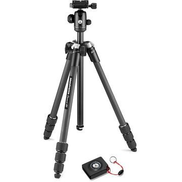 MAN-MKELMII4CMBB Element MII Mobile Bluetooth Carbon Fiber Tripod - Black