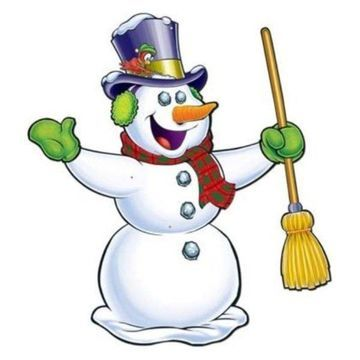 Beistle Jointed Snowman Decor, 28
