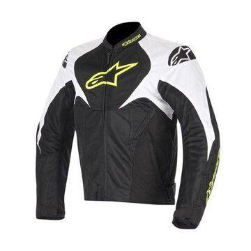 Alpinestars T-Jaws Air Mens Textile Jacket Black/White/Yellow