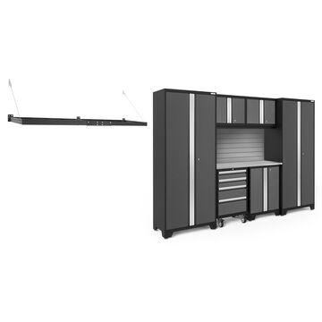 NewAge Products Bold Series 3.0 Grey 8 Piece Cabinet Set
