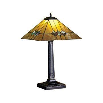 Meyda Tiffany 27855 Martini Mission Table Lamp