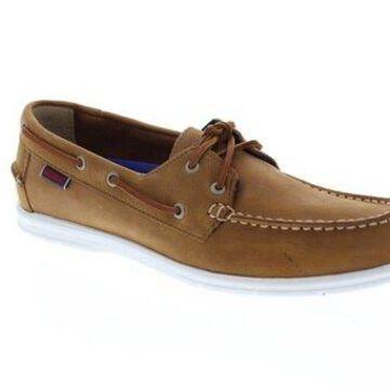 Sebago Litesides Fgl Brown Coganc Mens Casual Boat Shoes