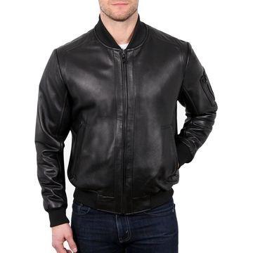 William Rast Mens Medium Motorcycle Leather Jacket