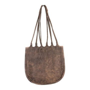 Latico Women's Ginny Shoulder Bag 8944 Distressed Brown Leather - US Women's One Size (Size None)
