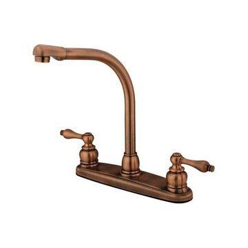Kingston Brass Victorian High Arch Kitchen Faucet