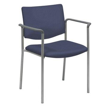 KFI Evolve Guest Chair with arms, Tuxedo Fabric