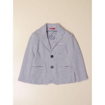 Fay single-breasted jacket in striped fabric