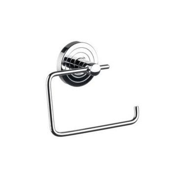 Ws Bath Collections Polo Toilet Paper Holder in Polished Chrome Bedding