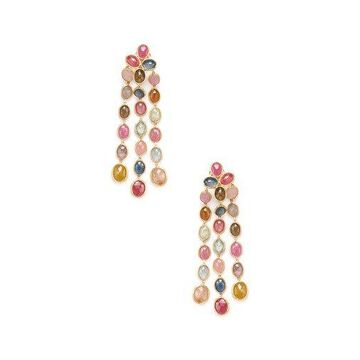 Marco Bicego Siviglia 18K Yellow Gold Gemstone Drop Earrings