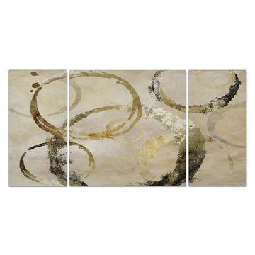 Wexford Home 'Golden Rings' Premium Multi-piece Art
