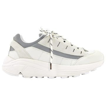 Ganni White Leather Trainers