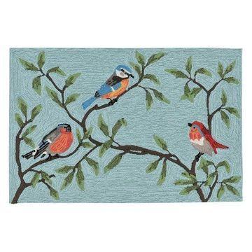 Ravella Birds On Branches 2270/04 Outdoor Rug, 2'0