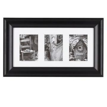 Black 3-Opening Gallery Frame by Studio Decor