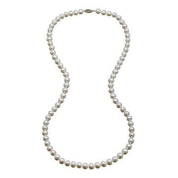 Certified Sofia 7-7.5mm Cultured Freshwater Pearl 30