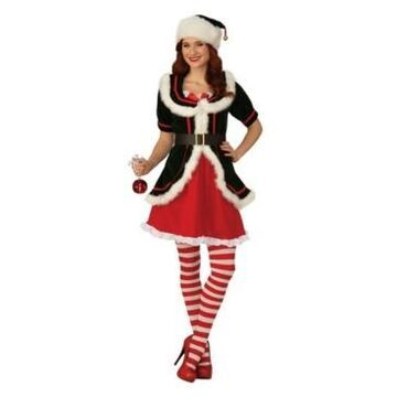 BuySeasons Women's Deluxe Female Elf Adult Costume