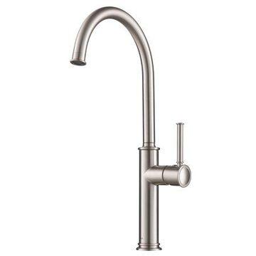 KRAUS Sellette Spot Free Stainless Steel Finish Kitchen Bar Faucet